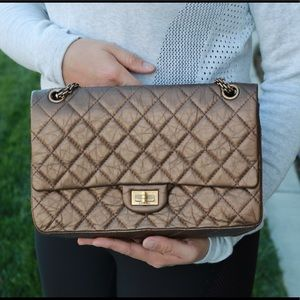 Chanel Iconic Reissue2.55 Quilted Calfskin Leather
